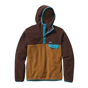 Men's Patagonia Brown Multi Color Synchilla Hooded